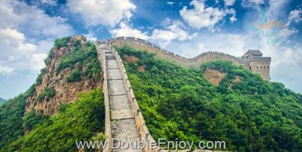 DE447 : โปรแกรมทัวร์จีน ปักกิ่ง เซี่ยงไฮ้ Olympic Tower กำแพงเมืองจีน 6 วัน 4 คืน (MU)