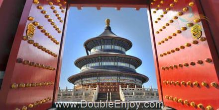 DE451 : โปรแกรมทัวร์จีน ปักกิ่ง เซี่ยงไฮ กำแพงเมืองจีน นั่งรถไฟความเร็วสูง 6 วัน 4 คืน (TG)