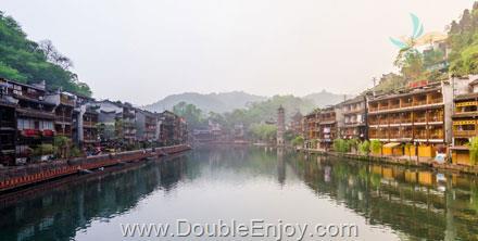 DE330 : โปรแกรมทัวร์จีน จางเจียเจี้ย เมืองโบราณเฟิ่งหวง สะพานแก้ว [บินตรงจางเจียเจี้ย] 5 วัน 3 คืน (CZ)