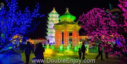 DE346 : โปรแกรมทัวร์เซี่ยงไฮ้ ฮาร์บิ้น เทศกาลหิมะ เกาะพระอาทิตย์ 6 วัน 5 คืน (MU) - ไม่เข้าร้านรัฐบาล