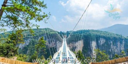 DE351 : โปรแกรมทัวร์จีน จางเจียเจี้ย ประตูสวรรค์ สะพานแก้วยาวที่สุดในโลก 4 วัน 3 คืน (WE)