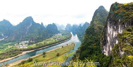 DE359 : โปรแกรมทัวร์จีน กุ้ยหลิน นาขั้นบันไดหลงจี๋ ล่องแพแม่น้ำหลีเจียง 6 วัน 5 คืน (CZ)