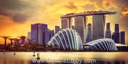 DE552 : โปรแกรมทัวร์สิงคโปร์ มารีน่าเบย์ ยูนิเวอร์แซลสตูดิโอ 3 วัน 2 คืน (SQ)