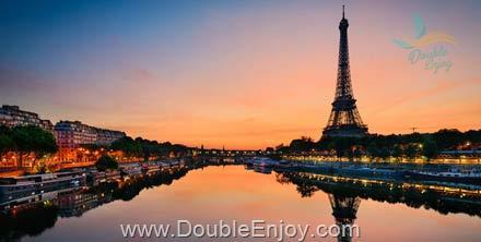 DE392 : โปรแกรมทัวร์ยุโรป ฝรั่งเศส ปารีส นอร์มังดี 7 วัน 4 คืน (EK)