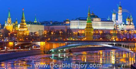 DE454 : ทัวร์รัสเซีย มอสโคว์ จัตุรัสแดง พระราชวังเครมลิน 6 วัน 3 คืน (EK)