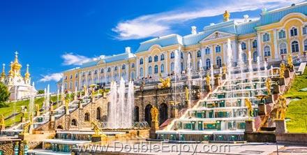 DE476 : ทัวร์รัสเซีย มอสโคว์ เซนต์ปีเตอร์สเบิร์ก 8 วัน 5 คืน (EK)