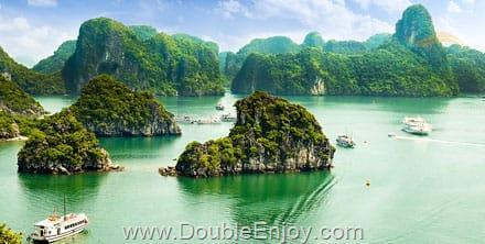 DE364 : ทัวร์เวียดนามเหนือ ฮานอย ซาปา ฟานซิปัน 4 วัน 3 คืน (VJ)
