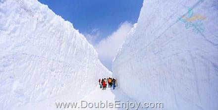 DE580 : โปรแกรมทัวร์ญี่ปุ่น โอซาก้า ทาคายาม่า เจแปนแอลป์ กำแพงหิมะ 5 วัน 3 คืน (XJ)