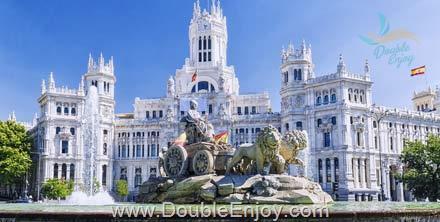 DE578 : โปรแกรมทัวร์ยุโรปใต้ สเปน โปรตุเกส 9 วัน 6 คืน (TK)