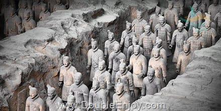 DE622 : โปรแกรมทัวร์จีน ซีอาน ลั่วหยาง สุสานทหารจิ๋นซี ถ้ำหินหลงเหมิน [ไม่เข้าร้านรัฐบาล] 5 วัน 4 คืน (FD)