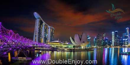 DE511 : โปรแกรมทัวร์สิงคโปร์ มารีน่าเบย์แซนด์ [Option ยูนิเวอร์แซลสตูดิโอ] 3 วัน 2 คืน (SQ)