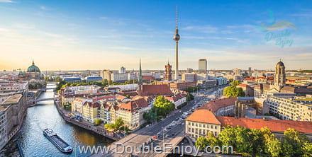 DE582 : ทัวร์ยุโรปตะวันออก เยอรมัน ออสเตรีย เช็ก สโลวาเกีย ฮังการี 8 วัน 5 คืน (QR)