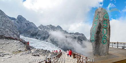 DE343 : โปรแกรมทัวร์คุนหมิง ต้าหลี่ ลี่เจียง แชงกรีล่า ภูเขาหิมะมังกรหยก 6 วัน 5 คืน (TG + บินภายใน) - ไม่เข้าร้านรัฐบาล