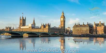 DE720 : โปรแกรมทัวร์อังกฤษ สกอตแลนด์ เวลส์ [เข้าชมภายในพระราชวังวินเซอร์] 10 วัน 7 คืน (TG)