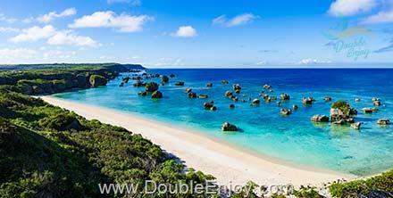 DE759 : โปรแกรมทัวร์ญี่ปุ่น เกาะสวรรค์โอกินาว่า นั่งเรือท้องกระจกชมปะการัง [บินตรง] 4 วัน 2 คืน (MM)