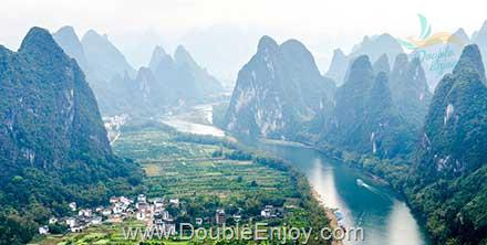 DE790 : โปรแกรมทัวร์จีน กุ้ยหลิน ล่องแพแม่น้ำหลีเจียง นั่งรถไฟความเร็วสูง 6 วัน 3 คืน (ZH)