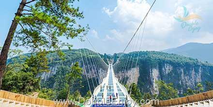 DE814 : โปรแกรมทัวร์จีน จางเจียเจี้ย เทียนเหมินซาน สะพานแก้ว [บินตรงจางเจียเจี้ย] 4 วัน 3 คืน (CZ)