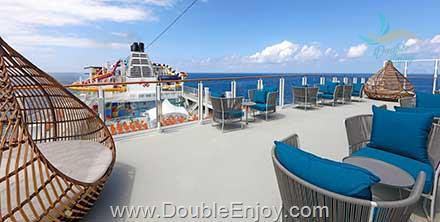 DE840 : โปรแกรมทัวร์ล่องเรือสำราญ ฮ่องกง ญี่ปุ่น นาฮา มิยาโกจิม่า 6 วัน 5 คืน (World Dream)