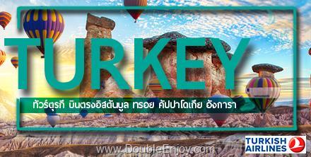 DE815 : โปรแกรมทัวร์ตุรกี คัปปาโดเกีย เทศกาลทุ่งดอกทิวลิป 8 วัน 5 คืน (TK)