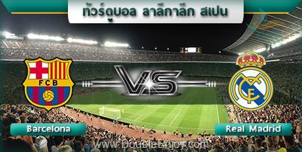 DE717 : โปรแกรมทัวร์ดูบอล ลาลีกาลีก สเปน (บาเซโลน่า - เรอัล มาดริด) 7 วัน 4 คืน (QR)