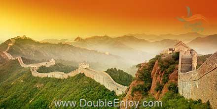 DE880 : โปรแกรมทัวร์จีน เทียนสิน ปักกิ่ง กำแพงเมืองจีน รถไฟความเร็วสูง 4 วัน 3 คืน (XW)