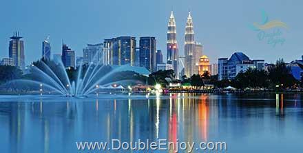 DE904 : โปรแกรมทัวร์มาเลเซีย สิงคโปร์ เที่ยวครั้งเดียว 2 ประเทศ 4 วัน 3 คืน [TG]
