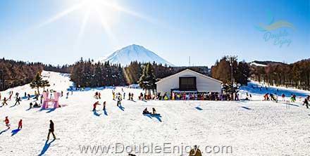 DE911 : โปรแกรมทัวร์ญี่ปุ่น โตเกียว ฟูจิ ลานสกี กระท่อมหิมะ kamakura festival 5 วัน 3 คืน (XJ)