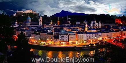 DE938 : ทัวร์ยุโรปตะวันออก ออสเตรีย เชค เยอรมนี 8 วัน 5 คืน (TG)
