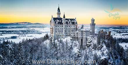 DE930 : โปรแกรมทัวร์ยุโรป เยอรมัน ออสเตรีย สวิส ฝรั่งเศส 8 วัน 5 คืน (QR)