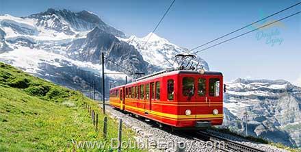 DE929 : ทัวร์ยุโรปตะวันตก อิตาลี สวิตเซอร์แลนด์ (จุงเฟรา) ฝรั่งเศส 8 วัน 5 คืน (QR)