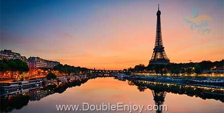 DE940 : ทัวร์ยุโรป ฝรั่งเศส ปารีส หอไอเฟล มงแซงต์มิเชล 8 วัน 5 คืน (EK)