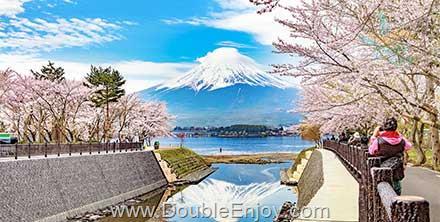 DE958 : ทัวร์ญี่ปุ่น โตเกียว ฟูจิ อิบารากิ ชมซากุระ สวนฮิตาชิซีไซด์ปาร์ค 5 วัน 3 คืน (XJ)