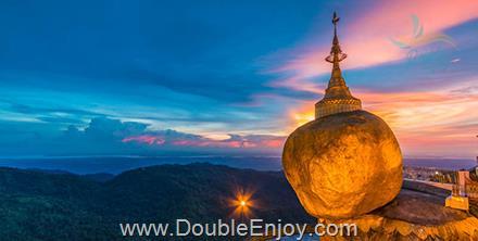 DE967 : โปรแกรมทัวร์พม่า ย่างกุ้ง พระธาตุอินทร์แขวน สักการะ 3 มหาบูชาสถาน 3 วัน 2 คืน (SL)