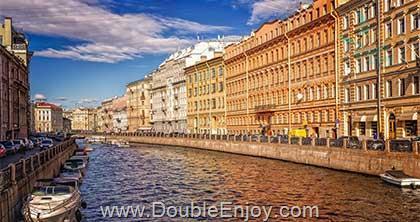DE973 : โปรแกรมทัวร์รัสเซีย มอสโคว์ ซาร์กอร์ส เซนต์ปีเตอร์สเบิร์ก 8 วัน 5 คืน (W5)