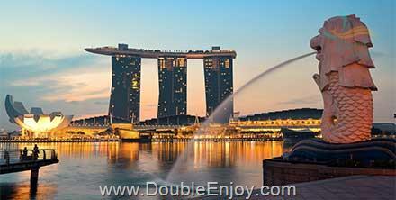 DE990 : โปรแกรมทัวร์สิงคโปร์ มารีน่าเบย์แซนด์ [PROMOTION] 3 วัน 2 คืน (SL)
