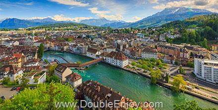 DE214 : โปรแกรมทัวร์ยุโรปตะวันตก อิตาลี สวิตเซอร์แลนด์ [กลาเซียร์ - ริกิ] 7 วัน 4 คืน (EK)
