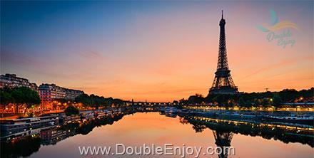 DE216 : โปรแกรมทัวร์ยุโรป ฝรั่งเศส เบลเยี่ยม ลักเซมเบิร์ก เยอรมนี เนเธอร์แลนด์ 7 วัน 4 คืน (EK)