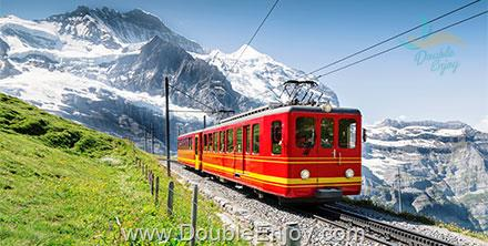 DE221 : ทัวร์ยุโรปตะวันตก ฝรั่งเศส สวิตเซอร์แลนด์ (จุงเฟรา) อิตาลี 9 วัน 6 คืน (EK)