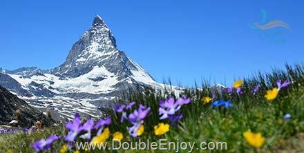 DE238 : โปรแกรมทัวร์ยุโรป แกรนด์สวิตเซอร์แลนด์ นั่งรถไฟสายโรแมนติก 8 วัน 5 คืน (TG)