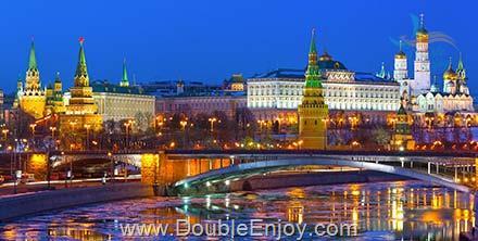 DE474 : โปรแกรมทัวร์แกรนด์รัสเซีย มอสโคว์ ซากอส เซ็นต์ปีเตอร์สเบิร์ก 8 วัน 5 คืน (TK)