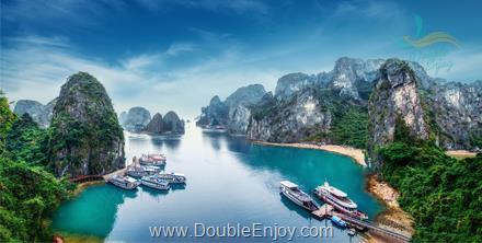 DE769 : ทัวร์เวียดนามเหนือ ฮานอย ฮาลองเบย์ 3 วัน 2 คืน (FD)
