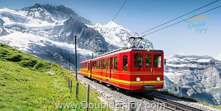 DE248 : โปรแกรมทัวร์ยุโรป สวิตเซอร์แลนด์ เขาจุงเฟรา เขาริกิ 8 วัน 5 คืน (TG)