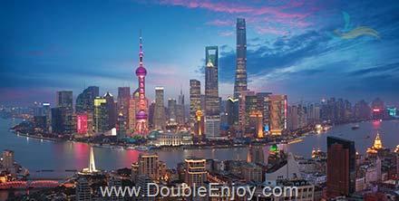 DE666 : โปรแกรมทัวร์จีน เซี่ยงไฮ้ หังโจว หาดไว่ทาน 5 วัน 2 คืน (CZ)