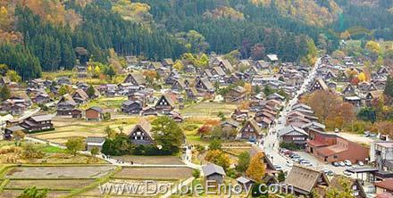 DE252 : โปรแกรมทัวร์ญี่ปุ่น ทาคายาม่า โอซาก้า ทตโทริ ชิราคาวาโกะ 6 วัน 4 คืน (XJ)