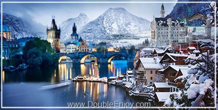 DE848 : ทัวร์ยุโรปตะวันออก เยอรมัน ออสเตรีย เชค สโลวาเกีย ฮังการี 9 วัน 6 คืน (EK)