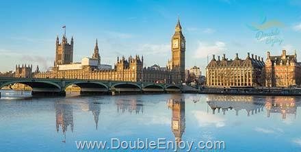 DE268 : โปรแกรมทัวร์อังกฤษ ลอนดอน สโตนเฮนจ์ อ๊อกซฟอร์ด 6 วัน 3 คืน (BI)