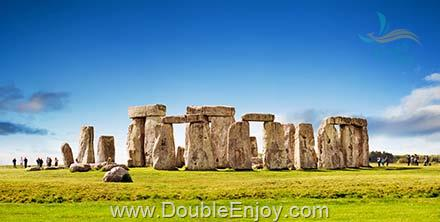 DE856 : โปรแกรมทัวร์ยุโรป อังกฤษ ลอนดอน สโตนเฮนจ์ 6 วัน 3 คืน (GF)