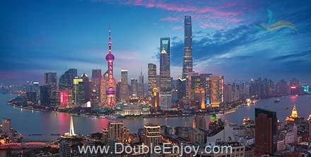 DE270 : ทัวร์เซี่ยงไฮ้ หังโจว ล่องเรือโบราณ นั่งรถไฟความเร็วสูง 6 วัน 3 คืน (CZ)
