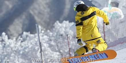 DE224 : โปรแกรมทัวร์เกาหลี เล่นสกี ปั่น Rail Bike 6 วัน 3 คืน (TG)