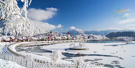 DE286 : ทัวร์เฉินตู ภูเขาหิมะซีหลิง ต๋ากู่ปิงชวน อุทยานภูผาหิมะการ์เซีย [ไม่เข้าร้านรัฐบาล] 6 วัน 3 คืน (8L)